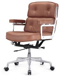 stylish office leather chair with modern white leather office chair