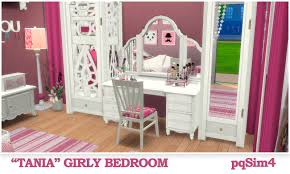 Sims Bedroom Tania Girly Bedroom Sims 4 Custom Content