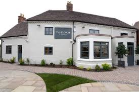 The Exterior Of The Pub Painted In Farrow And Ball Country - Farrow and ball exterior colours