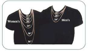 Chain Size Chart Inch How To Size A Chain How To Measure A Chain