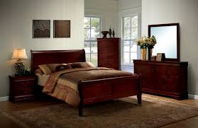 Louis Bedroom Furniture Furniture Of America Louis Philippe Iii 4pcs Queen Bedroom Set