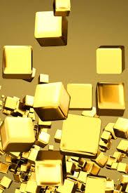golden cubes iphone 4s wallpaper