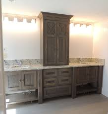 bathroom cabinet styles. furniture style bathroom vanity in white oak with grey brown stain within vanities designs 16 cabinet styles