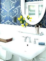 bathroom pedestal sink storage. Interesting Bathroom Over The Sink Shelf Bathroom Pedestal Storage Under Small  With  On B