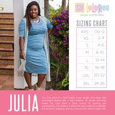 Jade Lularoe Size Chart Sizing Closer To The Heart Creations