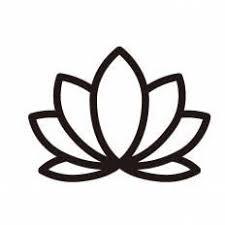 ハスの花シルエット イラストの無料ダウンロードサイトシルエットac