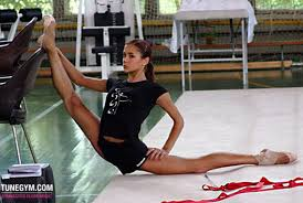 floor gymnastics splits.  Gymnastics How To Do The Splits In Gymnastics  Floor Music Intended