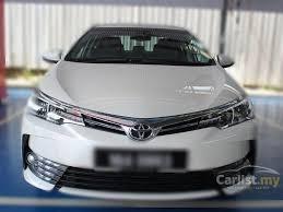 2017 Toyota Corolla Altis G Sedan