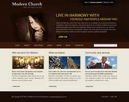 Free Church Website Templates Impressive Modernchurchwebsitetemplatepsd28 Website Template PSD Sale