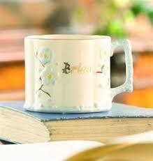 belleek china baby boy personalised cup