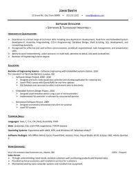 Resume Template Software 30 Best Embedded Software Engineer Resume Images Fresh Resume Sample