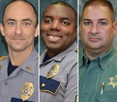 San Diego Police Officer Shot  Killed in Line of Duty  Second       Iowa Officers Killed in Apparent Ambush Identified  Suspect in Custody