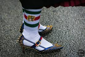 gucci 2017 shoes. gucci shoes and socks by styledumonde street style fashion photography 2017