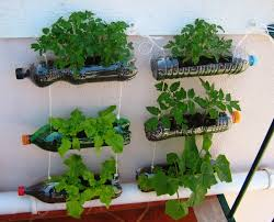... Creative DIY Planter Ideas from Mineral Water used Bottles Hanging  Garden Ideas ...