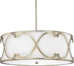 capital lighting 4744wg 611 alexander winter gold drum hanging light loading zoom