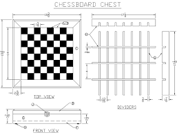 Wooden Board Games Plans Build a Chessboard Chest from Lee's Wood Projects Free 62