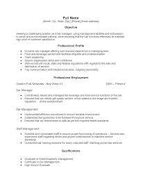 Bartender Skills Resume 97sample Bartender Resume Skills Here Are