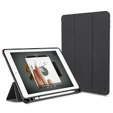 case ipad pro 10 5 leather case smart cover with apple pencil holder