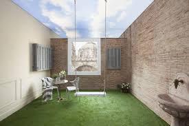 informal green wall indoors. Indoor Garden Coliseum 23 Barcelona Informal Green Wall Indoors