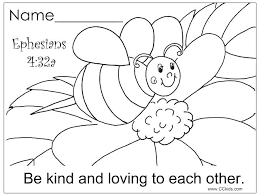 Lovely Religious Coloring Pages For Preschoolers Or Christian Color