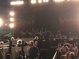 Gillette Stadium Section A3 Row 12 Seat 1 Coldplay Tour A