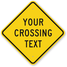 Custom Traffic Signs 100s Of Templates