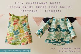 Doll Clothes Patterns Impressive Birchfabrics PDF Pattern Tutorial Freyja Fairy Dress Lily