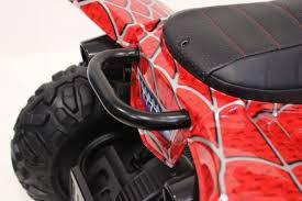 Детский <b>электроквадроцикл</b> T777TT красный-spider | <b>RiverToys</b>.ru