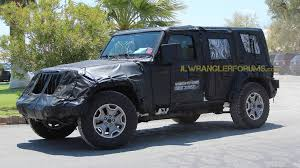jeep new models 2018. beautiful new 2018 jeep wrangler spy photo intended jeep new models
