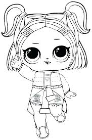 Lol Doll Babies Coloring Pages