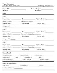 Travel Plan Template Excel Travel Plan Template Excel Itinerary Planner For Resume Business