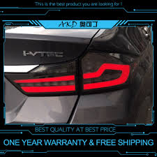 Akd Tuning Cars Tail Lights For Honda City 2014 2017 Taillights Led