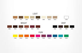 Elumen Hair Dye Colour Chart Lajoshrich Com