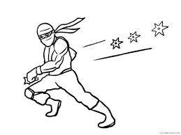 ninja coloring pages with katana Coloring4free - Coloring4Free.com