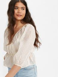 Buy <b>Levi's</b>® Women's <b>Delilah Wrap</b> Top | <b>Levi's</b>® Official Online ...