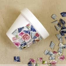 mosaic flower pots how to make broken