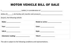 nc bill of sale form bill of sale form
