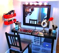 vanity mirror with lights ikea makeup home decor best table lighted desk light led
