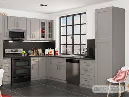 Grey Shaker Kitchen Choose Kitchen Cabinets Online At Affordable Price