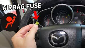 Mazda Cx 7 Airbag Fuse Location Replacement Airbag Light On