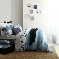 Palma Blue Quilt Cover Set By Royal Doulton &  Adamdwight.com