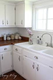 paint cabinets whiteKitchen Cabinets Painted White  HBE Kitchen
