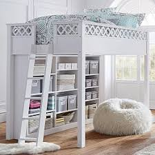 teen bed furniture. make bed mostly like this but change which side the bookshelf is on make it 2 sided claireu0027s room pinterest teen furniture and bedding bed