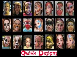 free face painting designs re super fast face paint designs