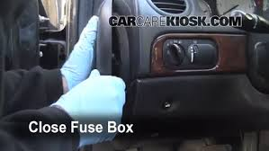 interior fuse box location chrysler lhs chrysler interior fuse box location 1999 2001 chrysler lhs 2001 chrysler lhs 3 5l v6