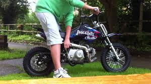 stomp juicebox 3 50cc pit bike start up youtube