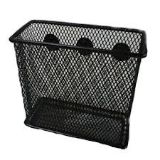 Magnetic Magazine Holder Large Metal Mesh Magnetic Office Wall Magazine RackWall Mounted 90
