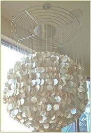 large capiz shell chandelier beautiful shell chandelier