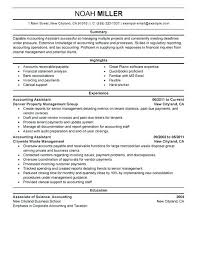 Resume Objective For Accounting Classy Sample Resume For Accounting Spacesheepco