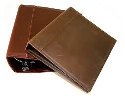 china whole leather portfolio binder for file organizer ideas